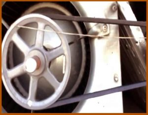 V Belt Drive Blower